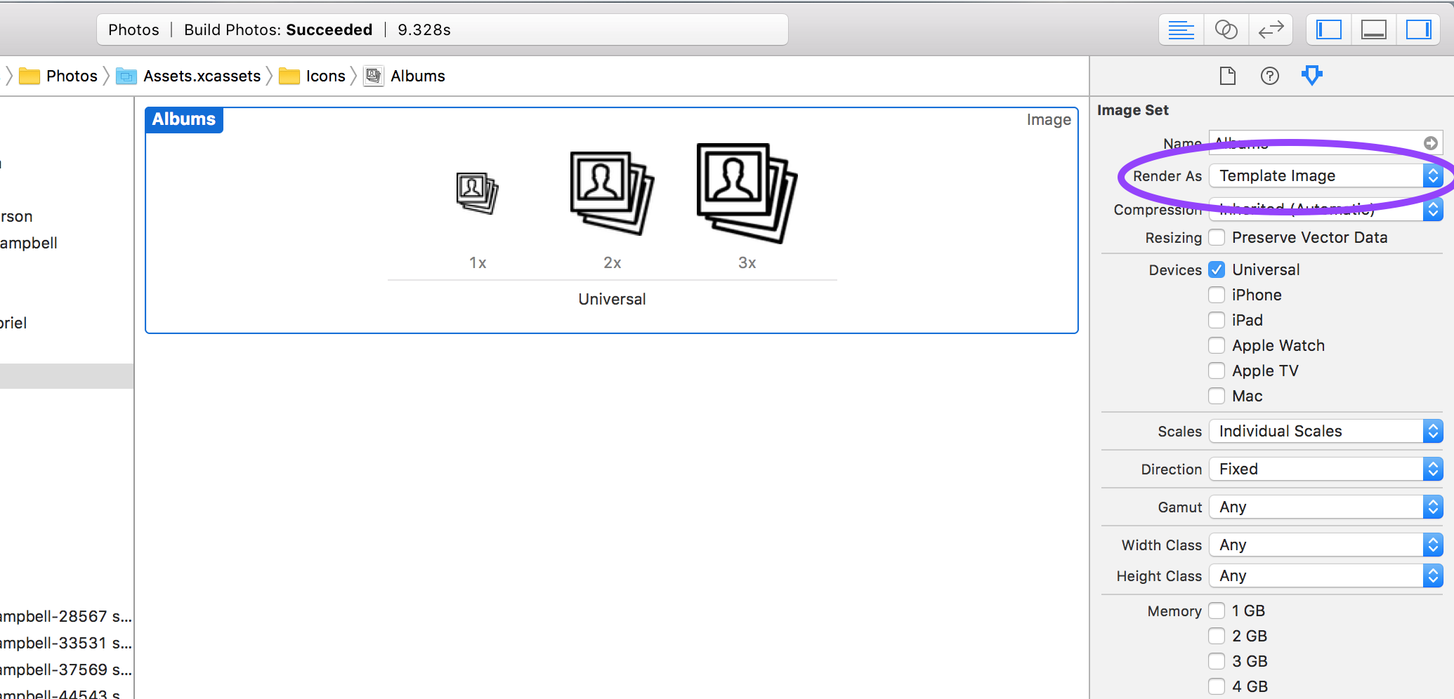 Setting render as template image for tab bar icons in the Xcode ...