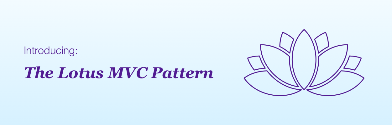 advanced iOS architecture lotus MVC pattern