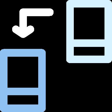 Passing data backward